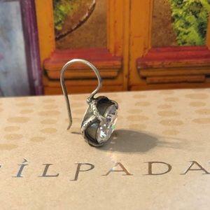 Silpada SINGLE Center Stage Cubic Zirconia Earring